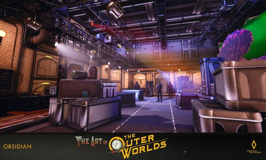 The art of The Outer Worlds 121