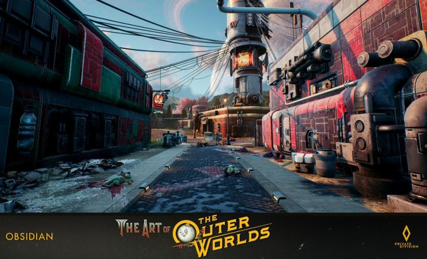 The art of The Outer Worlds 126