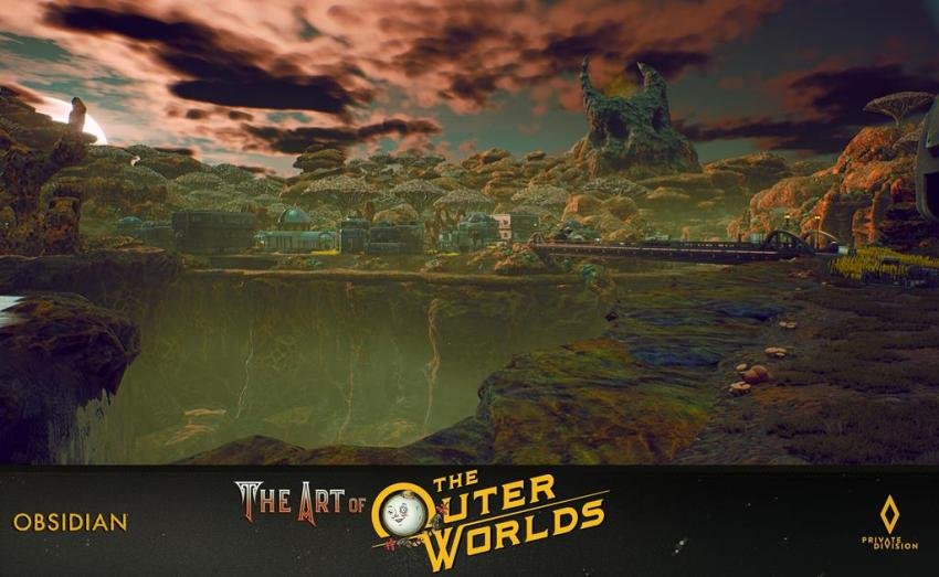 The art of The Outer Worlds 88