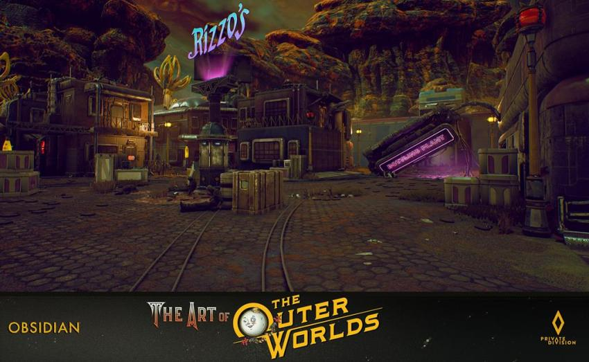 The art of The Outer Worlds 92