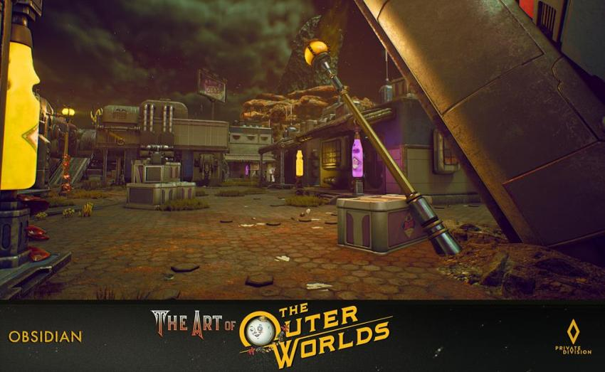 The art of The Outer Worlds 93