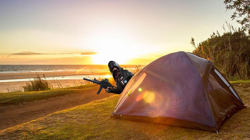 PUBG-Camping