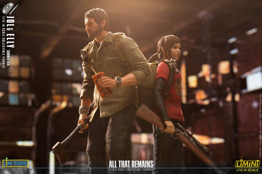 These Jol and Elly 1/12 scale All That Remains figures are just too adorable for the post apocalypse 22