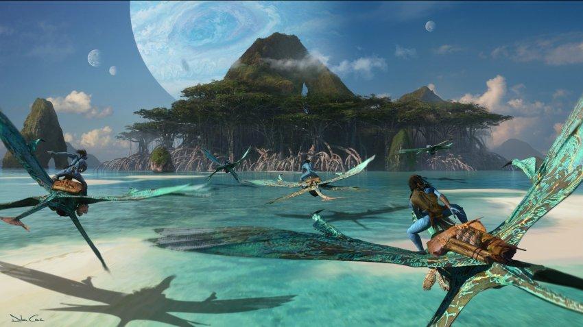 James Cameron unveils stunning Avatar 2 concept art... and concept car? 19