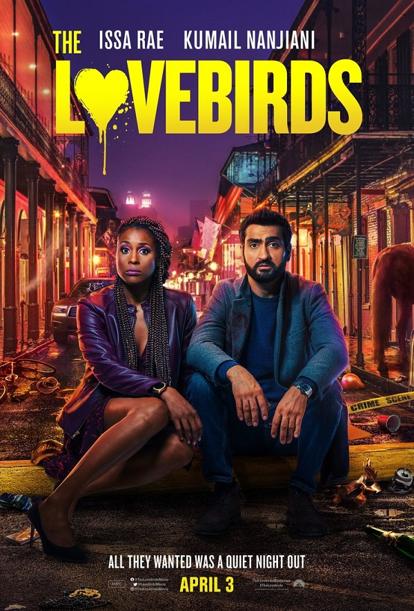 Kumail Nanjiani & Issa Rae are out to clear their names in this trailer for Lovebirds 4