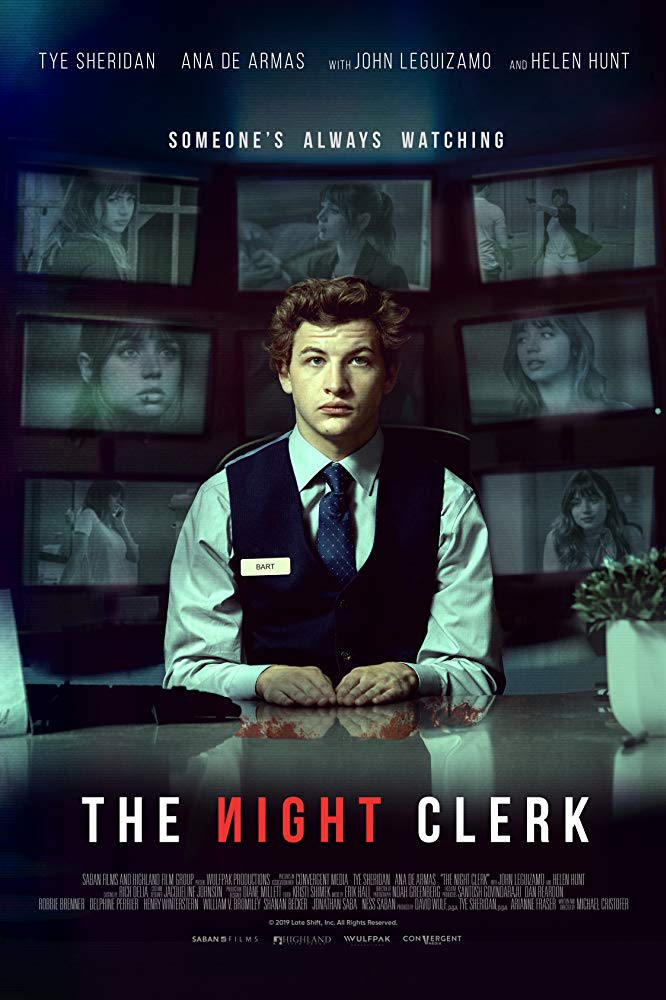 Tye Sheridan observes far more than he should in the crime thriller The Night Clerk 4