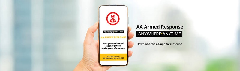 The AA Rescue Me app now offers affordable Armed Response 2
