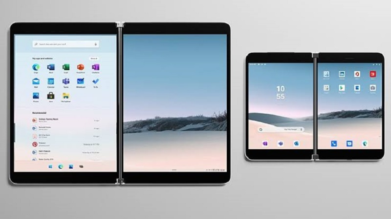 Microsoft reveals their vision for dual-screen apps 5