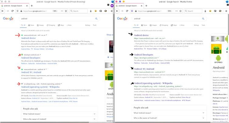 Google Search backtracks on recent UI changes 2