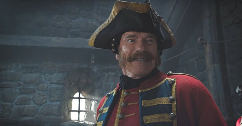 It's Jackie Chan vs Arnold Schwarzenegger in this trailer for The Iron Mask 2