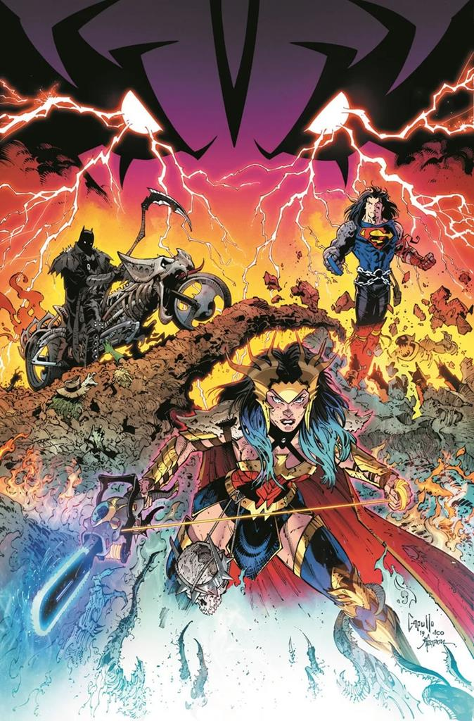 Dark Nights Death Metal is reuniting the band for a new comic book album of over the top action 13