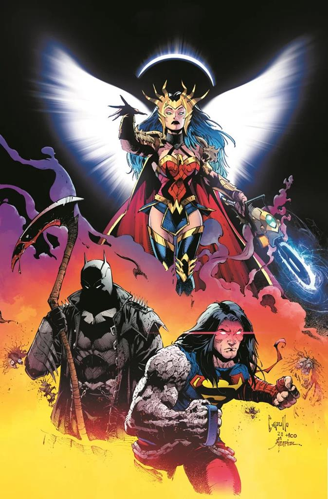 Dark Nights Death Metal is reuniting the band for a new comic book album of over the top action 12