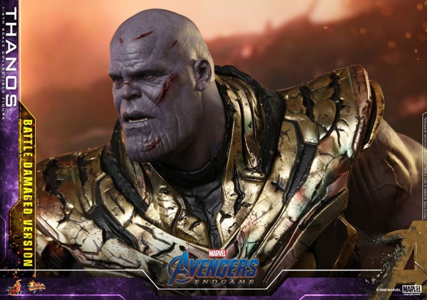 Hot Toys' latest Thanos figure is very worried that he might not survive Avengers: Endgame 23