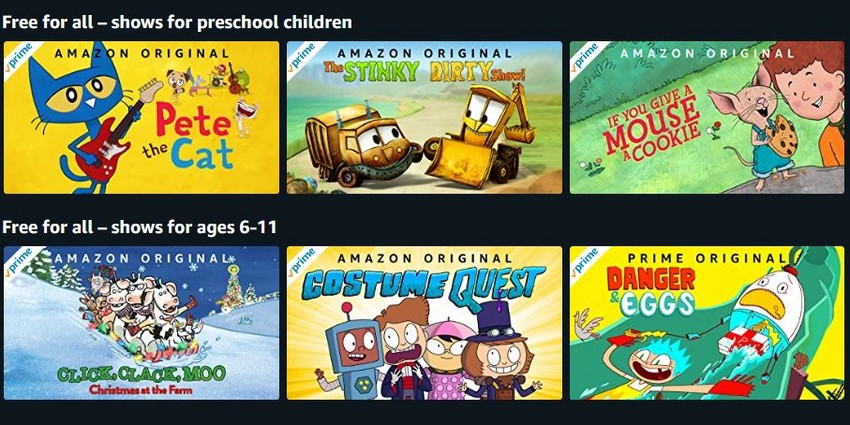 Amazon makes a bunch of streaming children's shows, audiobooks free for everyone amid Covid-19 lockdowns 4