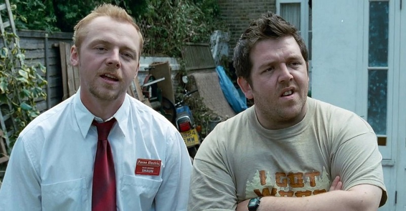 Simon Pegg and Nick Frost's Shaun of the Dead remake reminds you not to panic 2