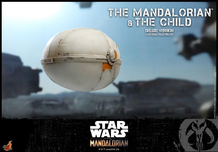 Hot Toys The Mandalorian has shiny armour, more firepower and Baby Yoda 40