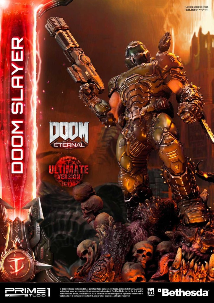 This $2400 DOOM Eternal Doom Slayer statue from Prime 1 is ready to rip and tear 29