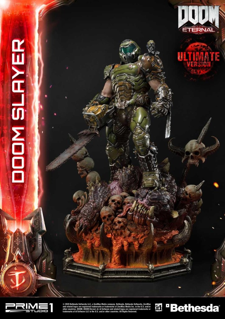 This $2400 DOOM Eternal Doom Slayer statue from Prime 1 is ready to rip and tear 39