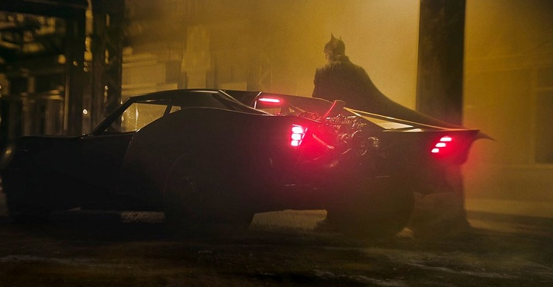 Early concept model gives a better look at Robert Pattison's Batmobile 2