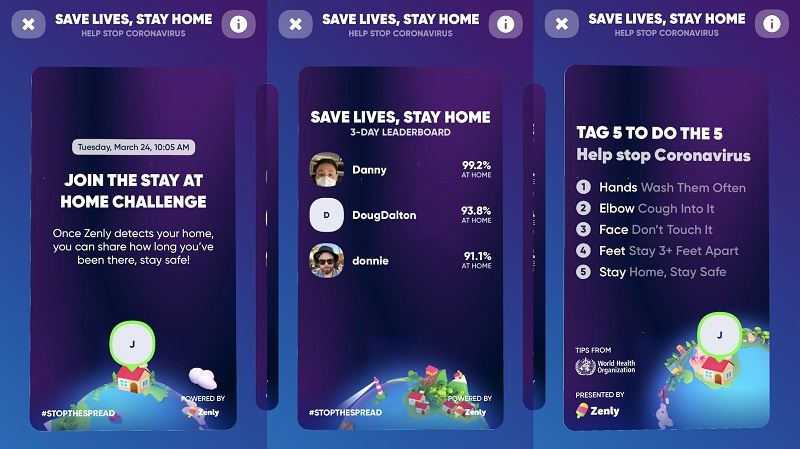 New Snapchat-owned app challenges people to a game of staying at home 4