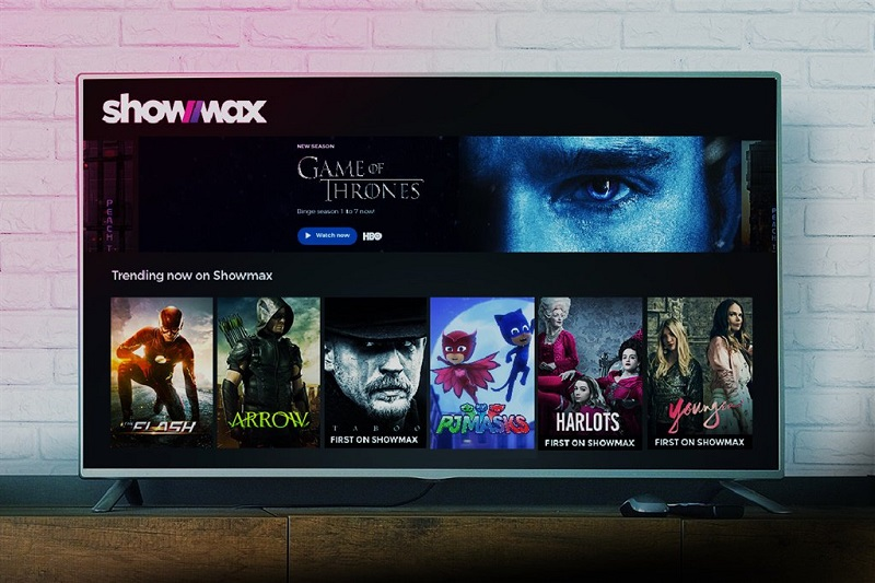 Showmax launches a new streaming package in Africa with live news and sports 5