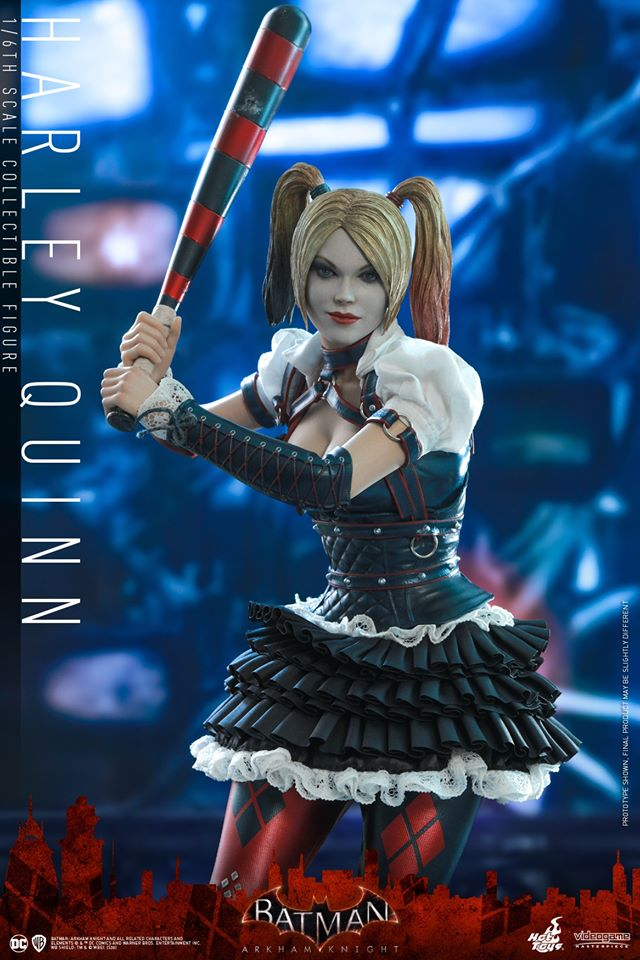 Hot Toys Harley Quinn is ready to paint the town red 27