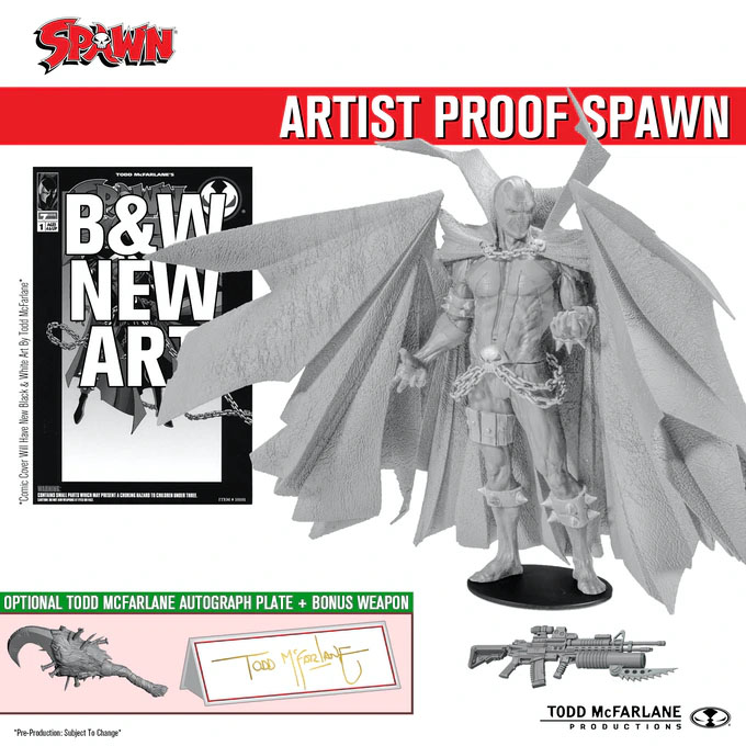 Todd McFarlane is bringing the original Spawn action figure back to life on Kickstarter 37