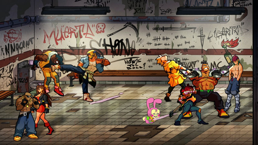 Streets of Rage 4 adds a gloriously retro soundtrack and pixelated fighters from previous games 3