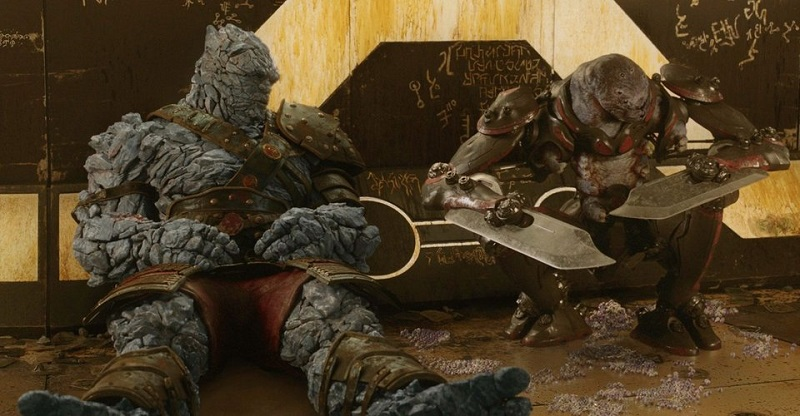 Thor: Love and Thunder will reveal more of how Korg and his species...get it on 4