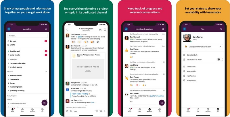 Simplified Slack UI comes to mobile