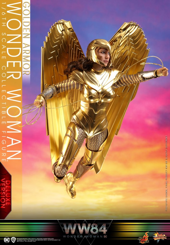 Hot Toys Wonder Woman 1984 is ready to soar like a majestic golden goddess 38