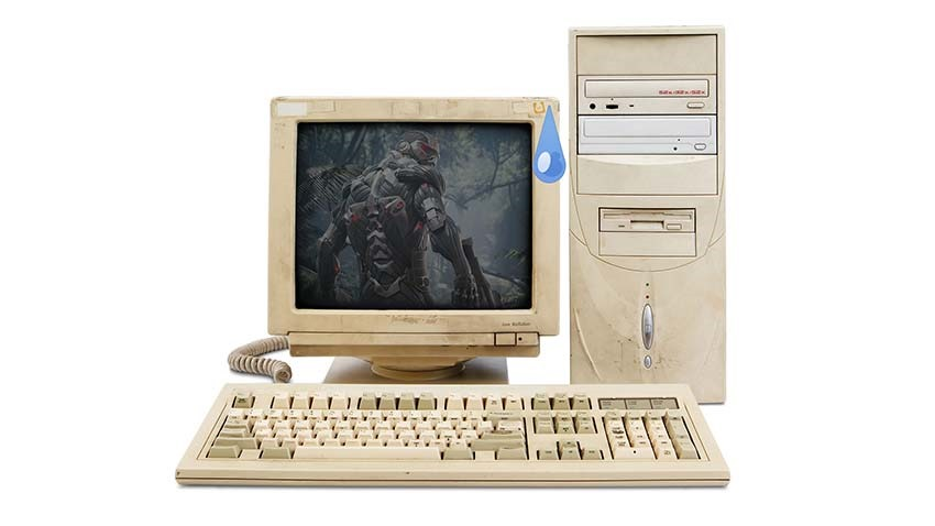 old PC set