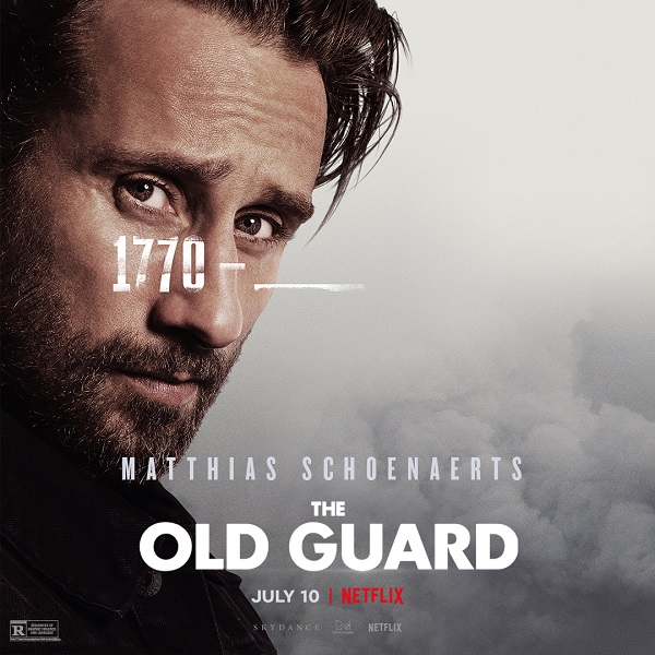 Meet The Old Guard in these new character posters and clips for Netflix's upcoming film 10