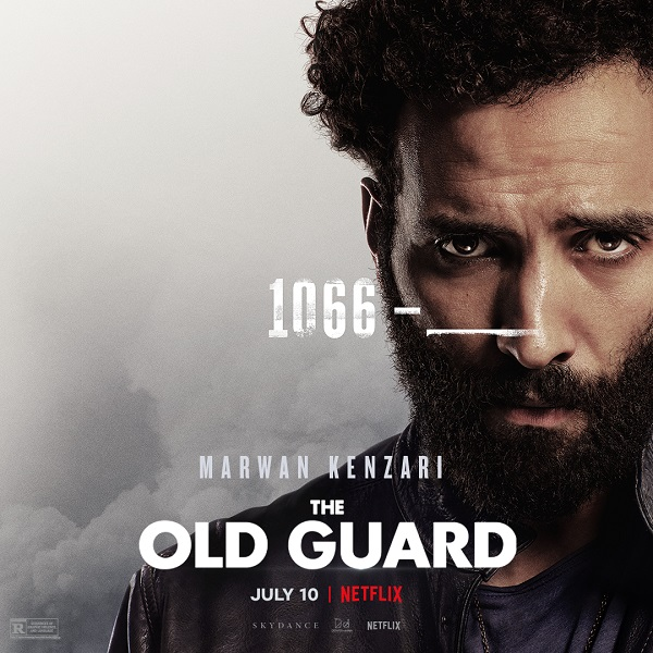Meet The Old Guard in these new character posters and clips for Netflix's upcoming film 11