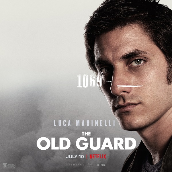 Meet The Old Guard in these new character posters and clips for Netflix's upcoming film 12