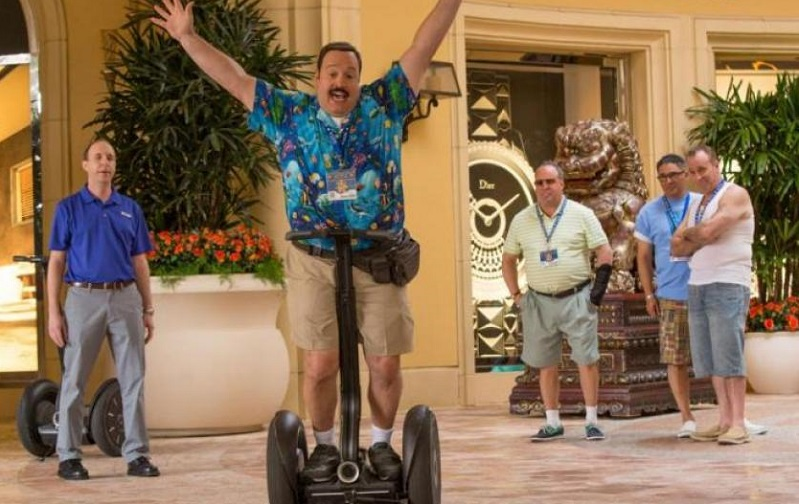 Only Paul Blart shall weep for the death of the Segway 4