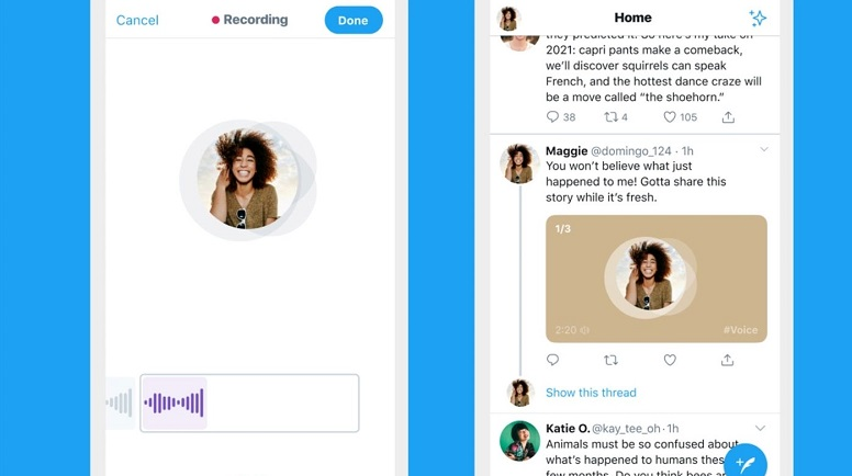 Twitter will now allow you to send voice tweets 4