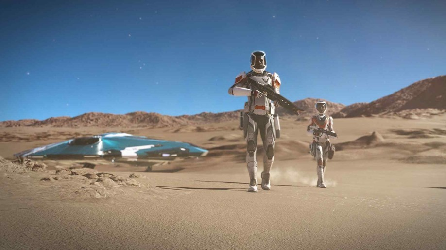 The next 'Elite Dangerous' expansion lets players walk on planets
