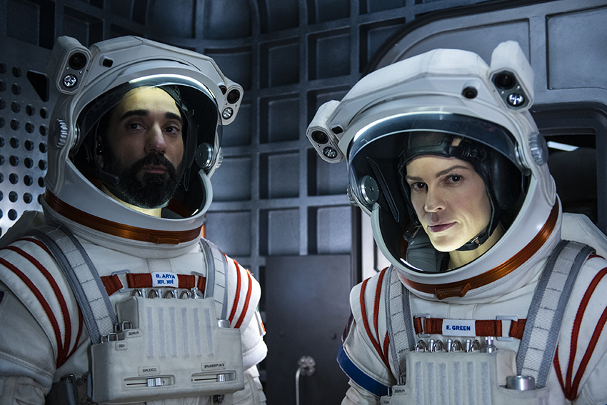 First look teaser trailer and images for Away - a new Netflix drama... in SPACE 16