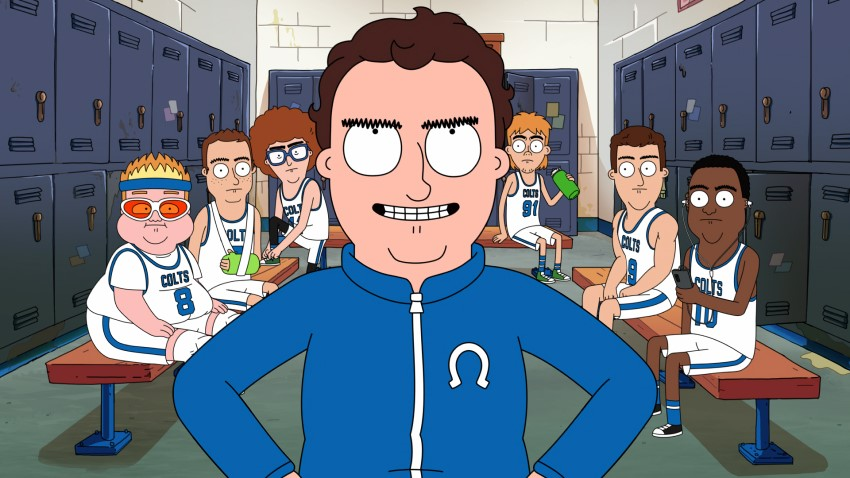 Netflix provides a first look at its adult animated series Hoops 2