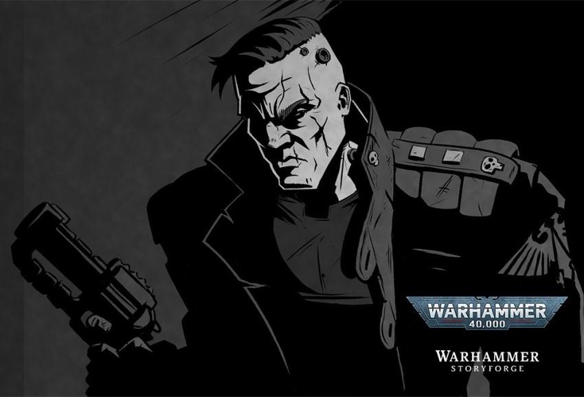 Interrogator is an animated noir detective drama set in the Warhammer 40k universe 4