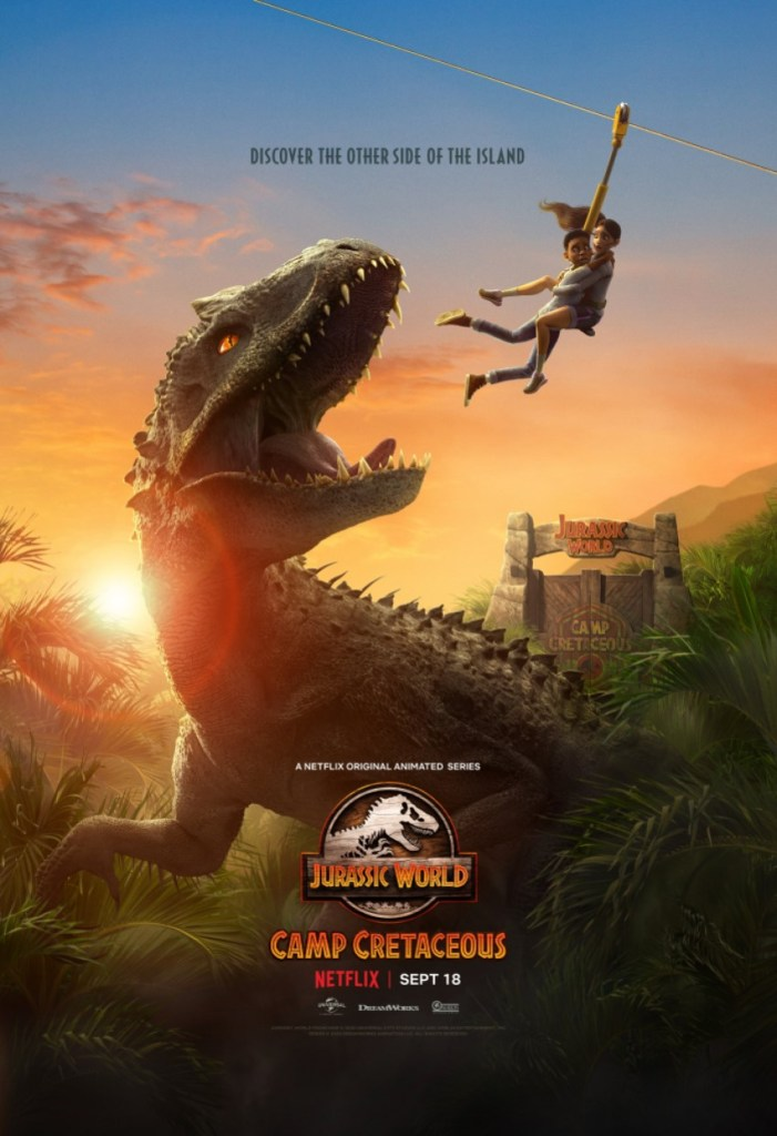 Return to the island in Netflix's animated series Jurassic World: Camp Cretaceous 4