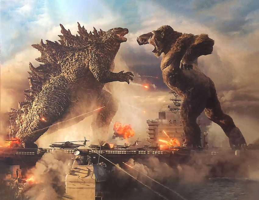 Godzilla vs. Kong: Toy Packaging Offers Sneak Peek of Delayed MonsterVerse Movie