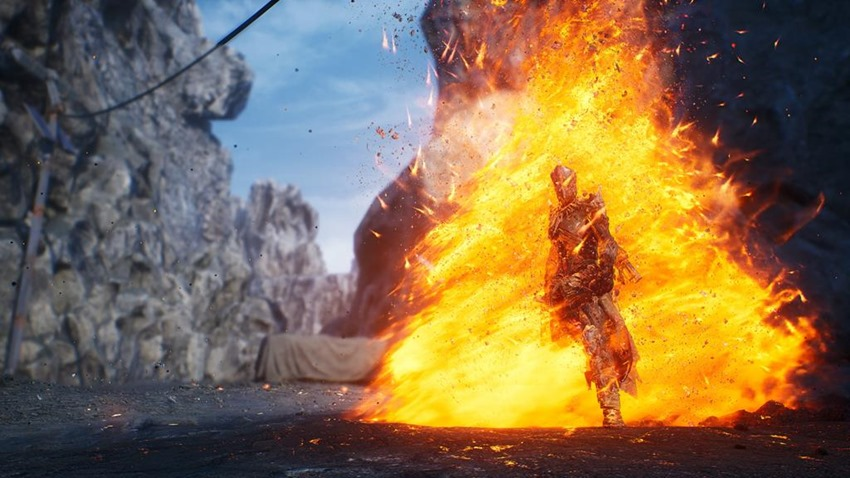 Outriders details how you'll burn its world down with the badass Pyromancer class 8