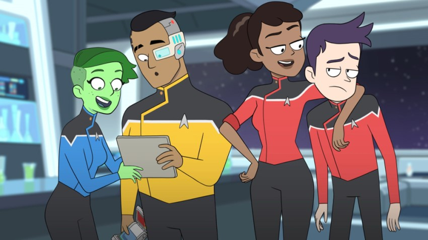 Meet the cool scrappy underdogs of CBS All-Access' animated comedy series Star Trek: Lower Decks 8