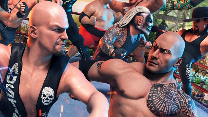 WWE 2K Battlegrounds will enter the ring on September 18, first superstars in the roster announced 8