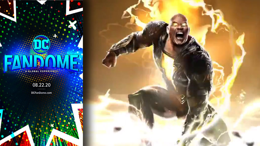 Black Adam Gets Animated Trailer, The Rock Teases Fight Against Superman