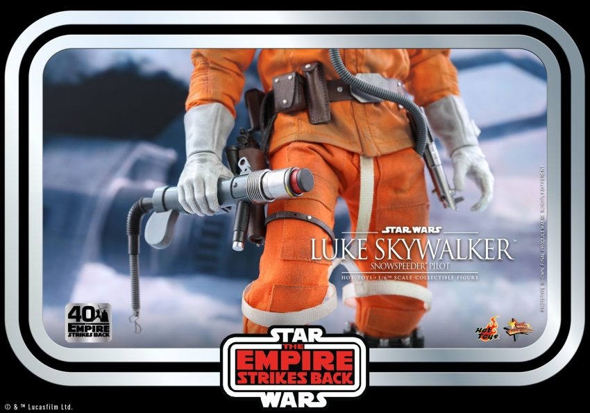 Hot Toys Luke Skywalker sadly doesn't include a severed Wampa arm in the package 40