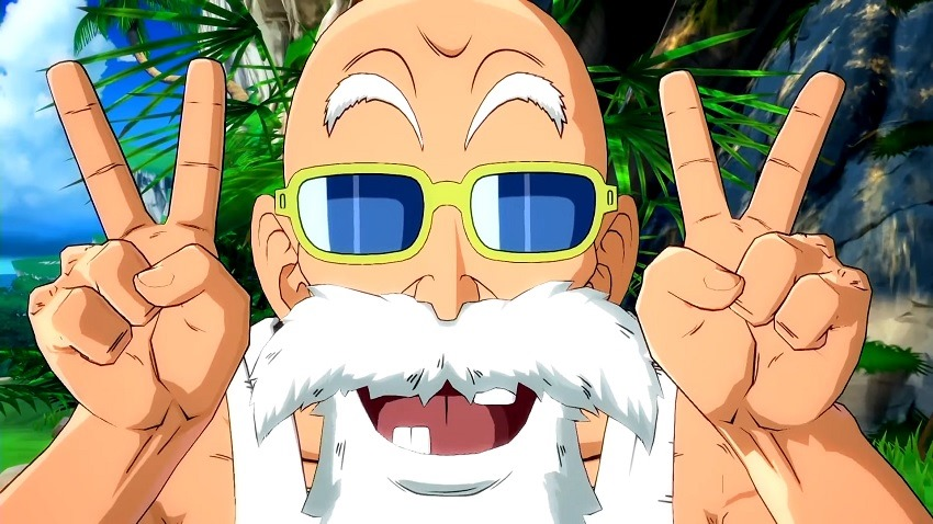 Dragon Ball Fighterz Adds Pervert Turtle Hermit Master Roshi To Its Roster Critical Hit