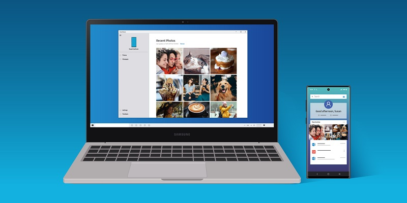 Samsung Note 20 is the first to utilise Microsoft's Your Phone feature for Windows 10 3